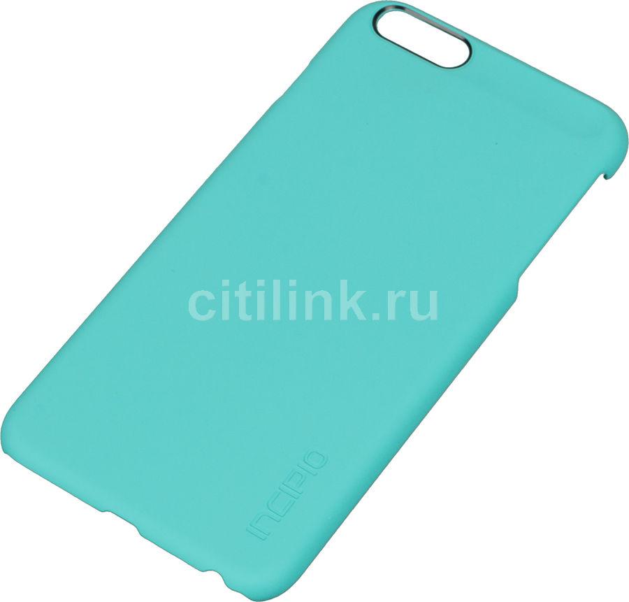 Чехол (клип-кейс) INCIPIO Feather, для Apple iPhone 6 Plus, бирюзовый [iph-1193-trq]