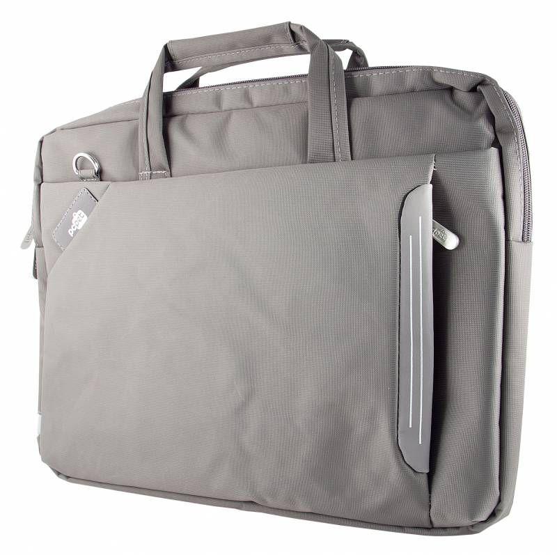 """Сумка для ноутбука 15.6"""" PC PET 6717-1, серый [tn6717-1grls]"""