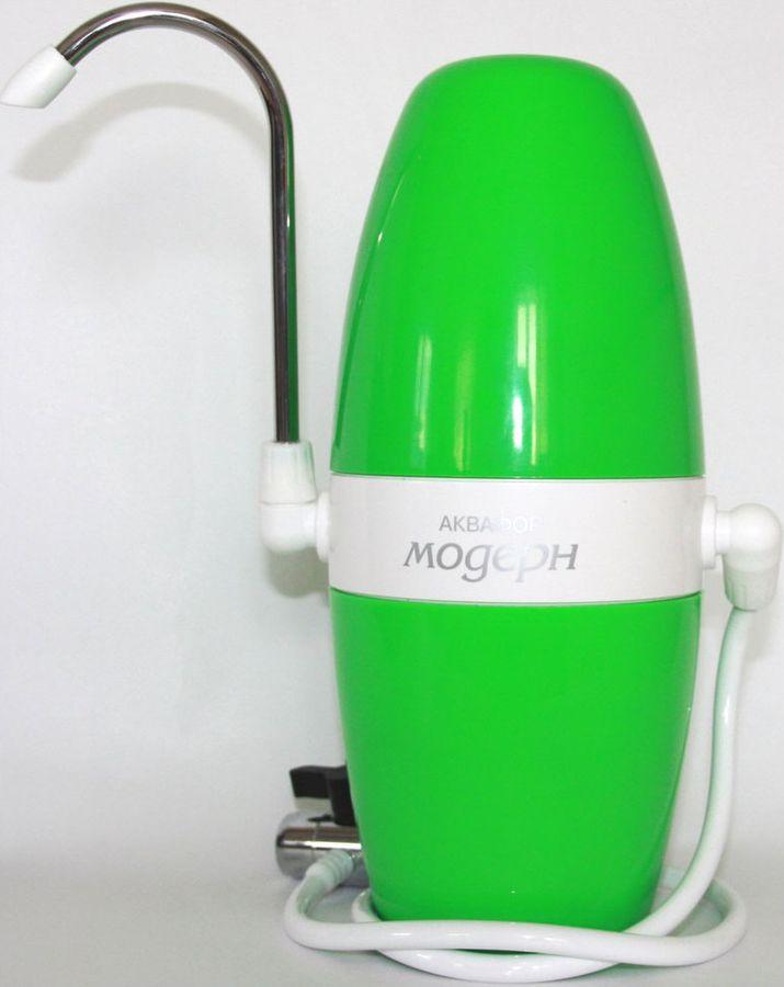 Водоочиститель АКВАФОР Модерн 1,  зеленый