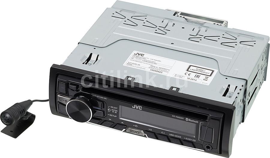 Автомагнитола JVC KD-R862BTEY,  USB