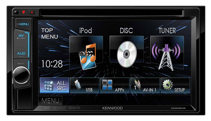 Автомагнитола KENWOOD DDX-3015R,  USB