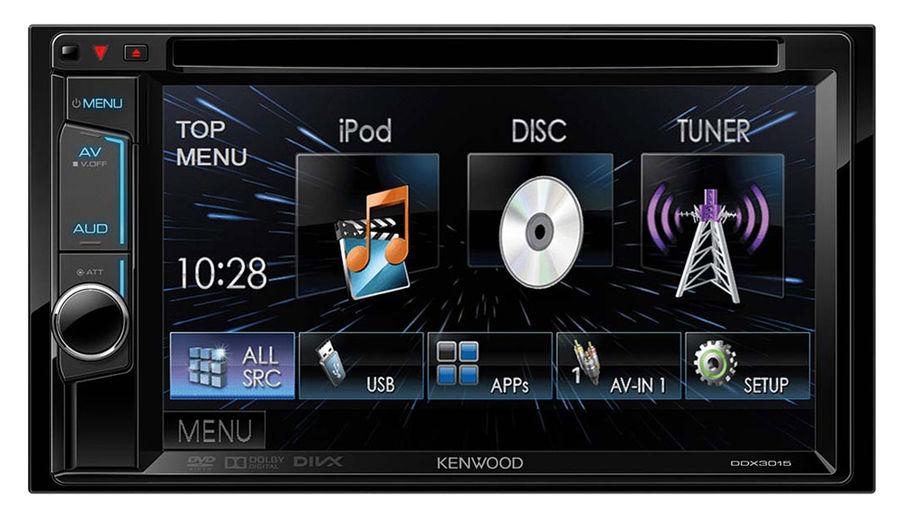 Автомагнитола KENWOOD DDX-3015R,  USB