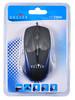 Мышь OKLICK 235M, оптическая, проводная, USB, черный и синий [mo-42b] вид 7