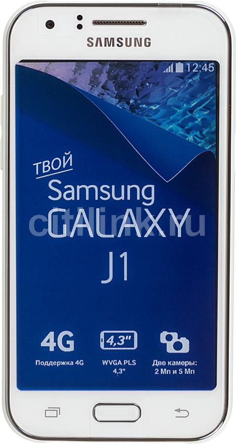 Смартфон SAMSUNG Galaxy J1 SM-J100  (2016), белый