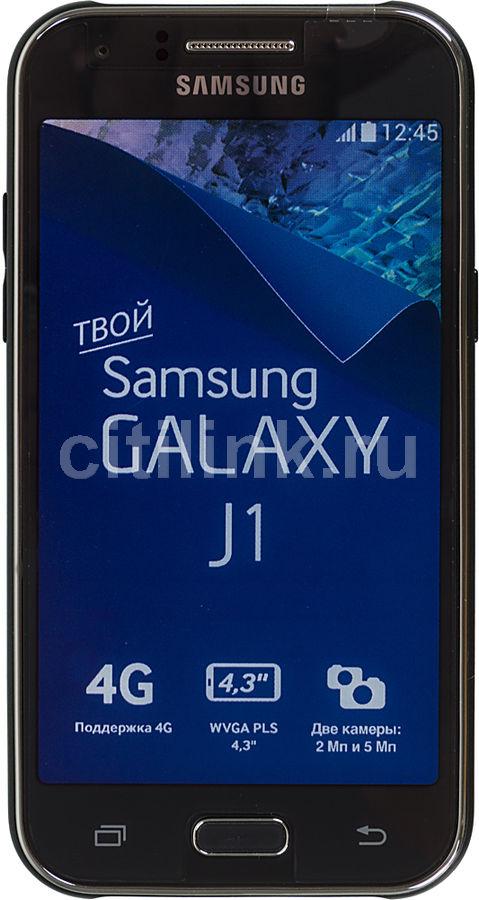 Смартфон SAMSUNG Galaxy J1 SM-J100F  черный