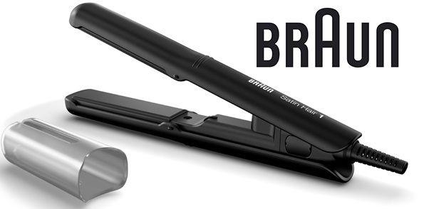 Выпрямитель для волос BRAUN ST100,  черный [81475799]