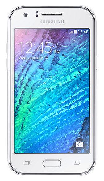 Смартфон SAMSUNG Galaxy J1 SM-J100H  белый