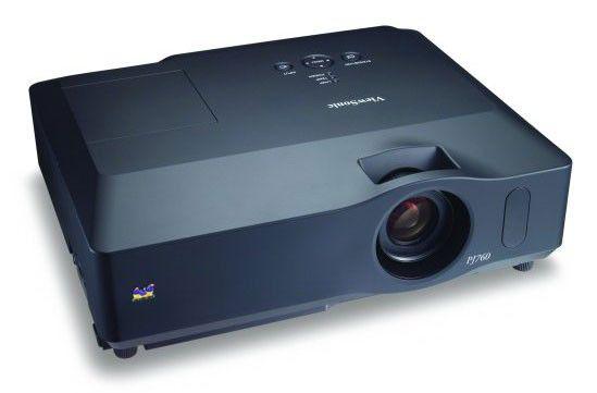 Проектор VIEWSONIC PJ760 черный [vs11822]