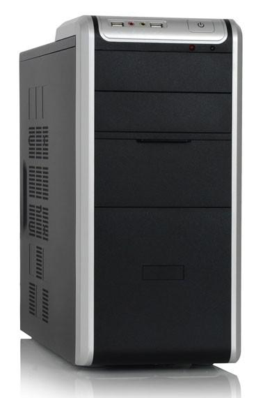 ПК I-RU City в составе INTEL Pentium Dual-Core E5400/ASUS P5G41T-M LX2/2Gb/512Mb8400GS/320GB/ [системный блок]