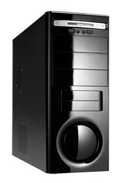 ПК I-RU City в составе INTEL Core i3 550/ASUS P7P55D PRO/4Gb/1GbGTS250/500Gb/DVD-RW/ [системный блок]