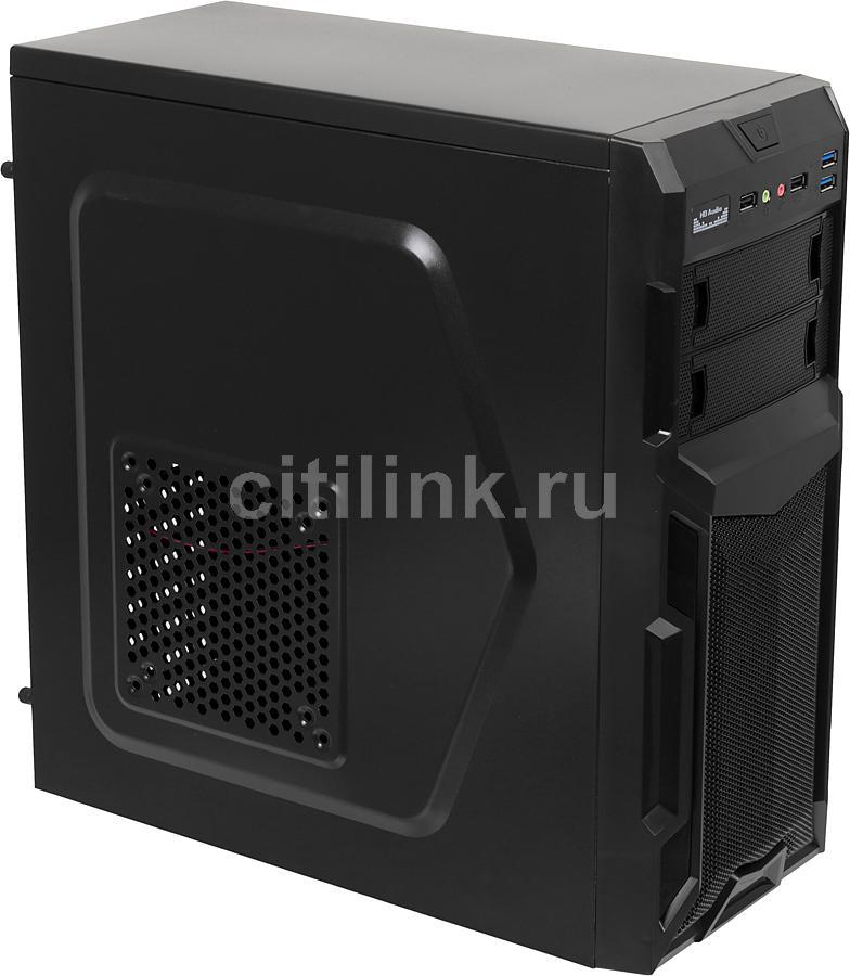 ПК I-RU City в составе INTEL Core i3 4330/ASUS B85M-G/4GB/120GB/DVD-RW/450W/Win7PRO64/ [системный блок]