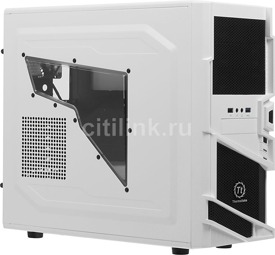 ПК I-RU City в составе INTEL Core i5 4590/GA-Z97X-SOC/8GB/GeForce GTX750 2GB/500GB/Blu-Ray/550W/