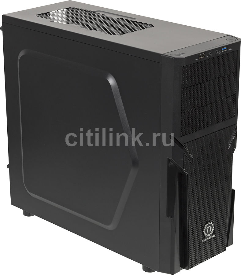 ПК I-RU City в составе INTEL Core i3 4330/ASUS H87-PLUS/4GB/1TB/128GB/450W/