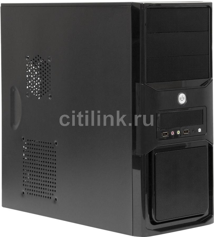 ПК I-RU City в составе INTEL Core i5 4570/GA-B85M-D3H/8Гб/500Гб/DVD-RW/400W [системный блок]