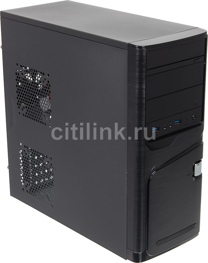 ПК I-RU City в составе INTEL Core i3 4130 box/GA-H81M-S1/4Гб/GeForce GTX650 1Гб/500W [системный блок]