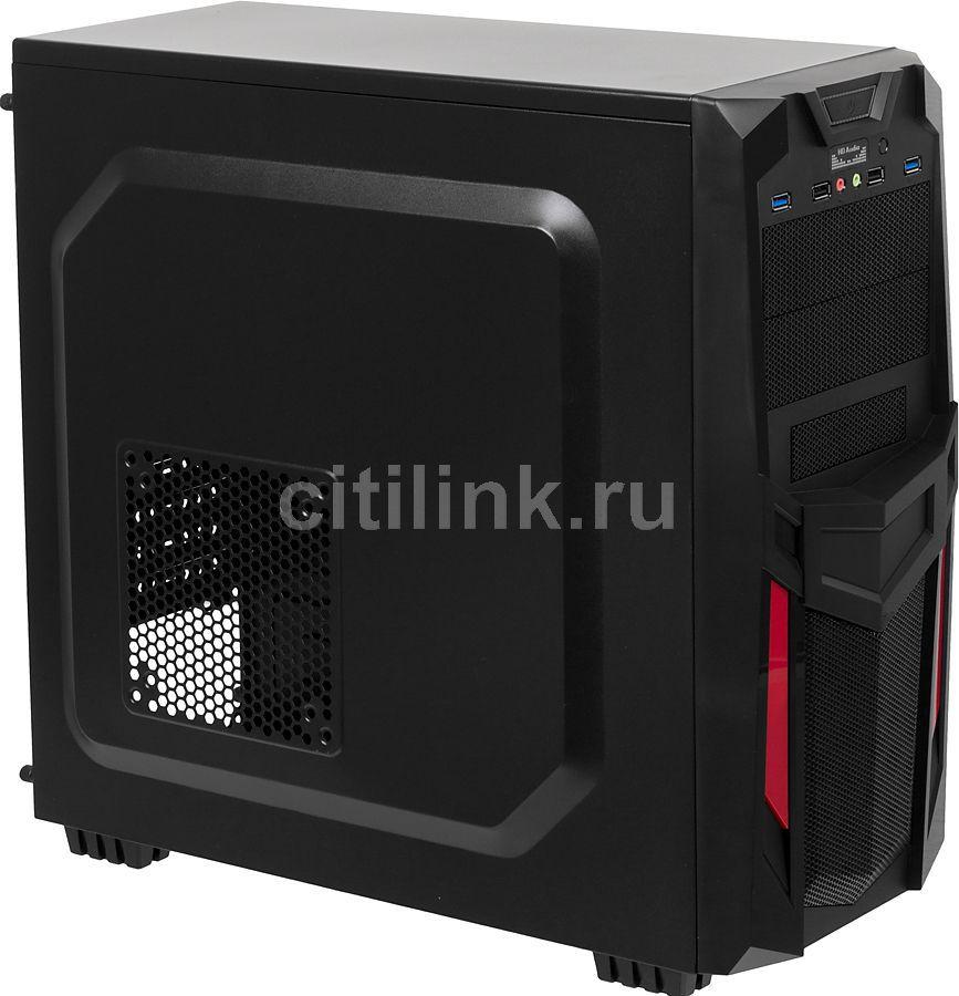ПК I-RU City в составе INTEL Core i3 4150/GA-H97-HD3/8Гб/GeForce GTX750Ti 2Гб/500Гб/DVD-RW/CR/600W