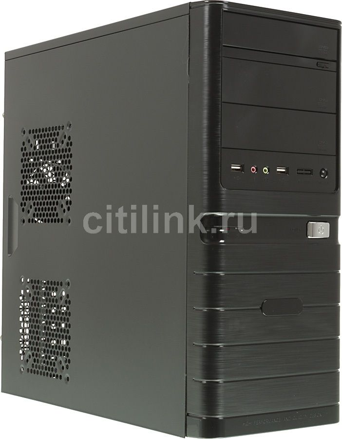 ПК iRU City 101 в составе INTEL Core i5 4460/MSI H81M-P33/8Гб/GeForce GTX750Ti 1Гб/1Тб/500W