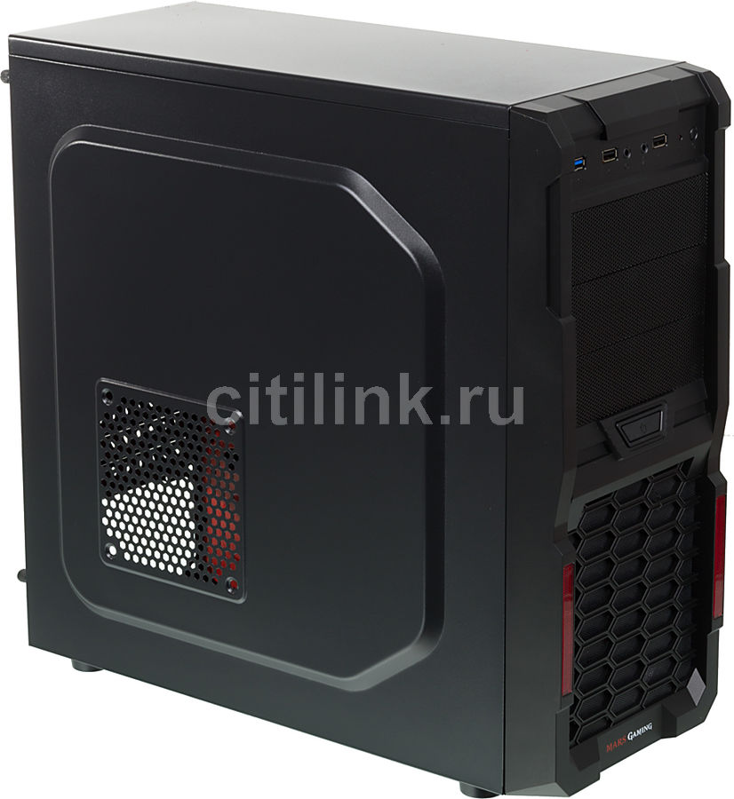 ПК iRU City 101 в составе INTEL Corei36100/GAH110MS2V DDR3/8GB/GeForce GTX750Ti2GB/500GB/500W
