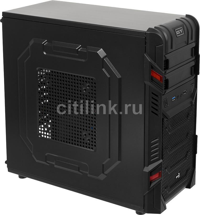 ПК iRU City 101 в составе INTEL Core i3 6100/GA-H110-D3/8Gb/R7 370 4Gb/500Gb/DVD-RW/500W