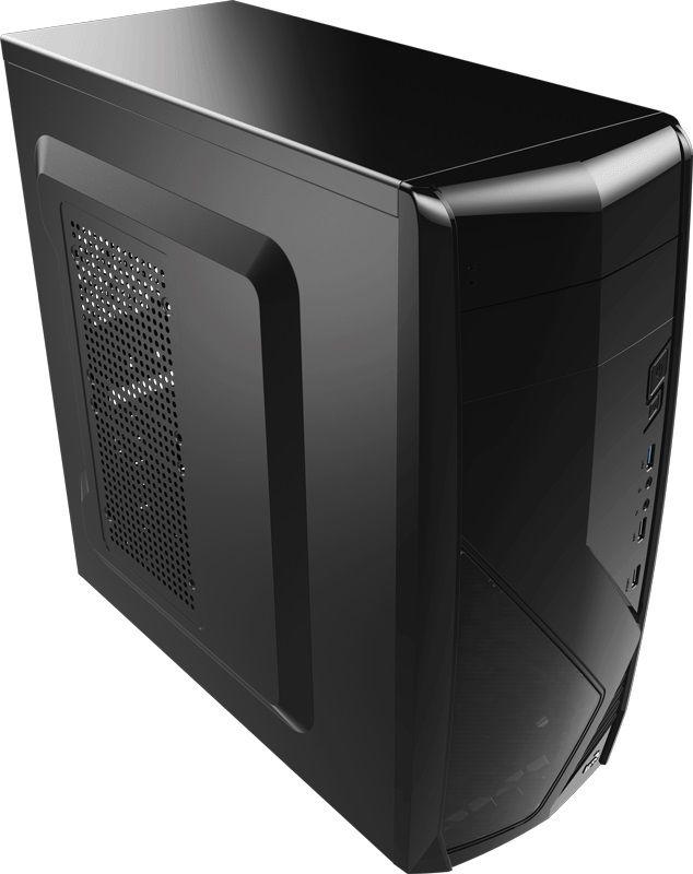 ПК iRU City 101 в составе INTEL Core i5 6400/GIGABYTE GA-Z170-HD3/2x8Gb/GTX1060 3Gb/3Tb/DVD-RW/600W