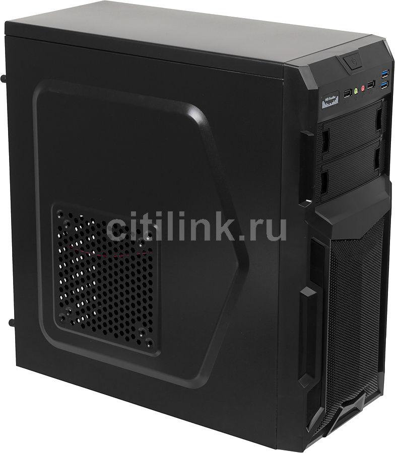 ПК iRU City 101 в составе AMD Ryzen 5 1600/MSI B350M MORTAR/8Gb/GTX1060 3Gb/480Gb/550W