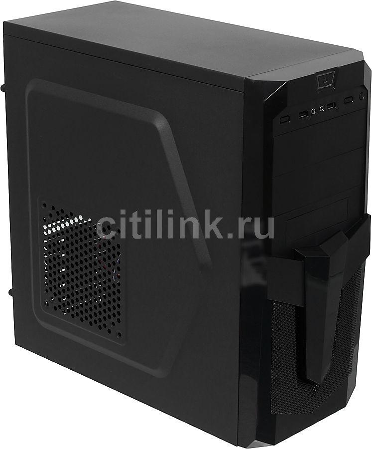 ПК iRU City 101 в составе INTEL i5 7400/ASROCK B250M PRO4/8Gb/GT1030 2Gb/1Tb/550W/W10H